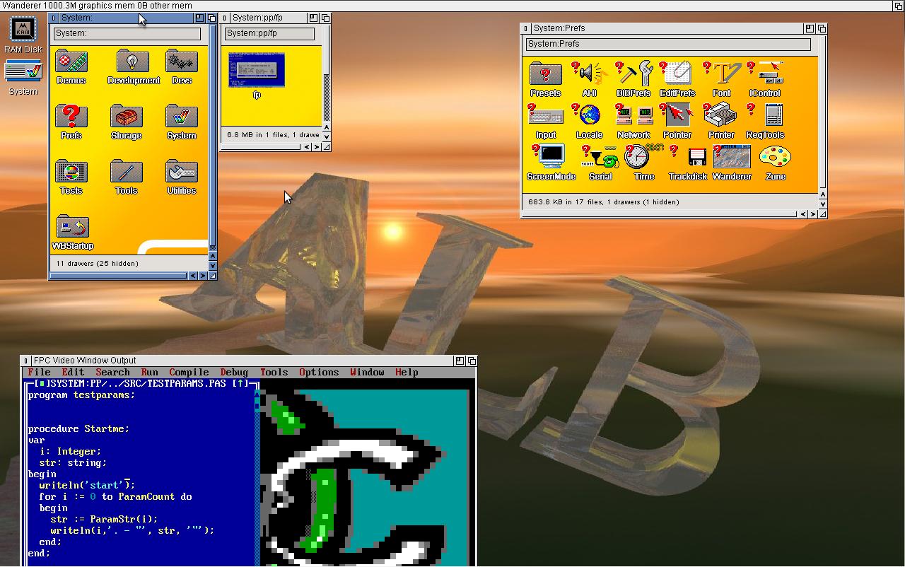 AROS Desktop