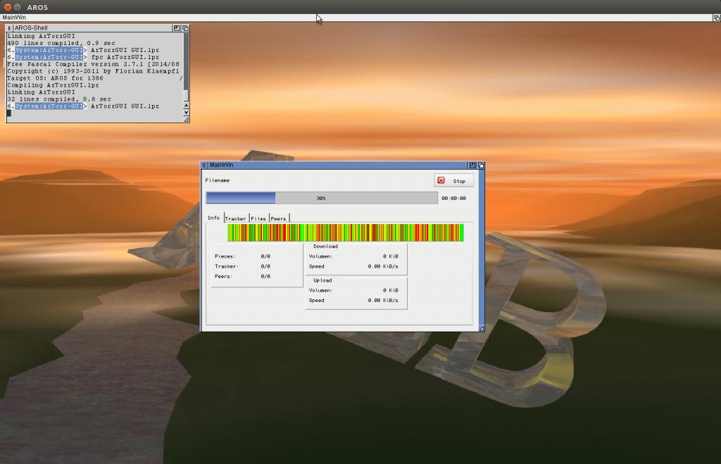 ArTorr First GUI Test