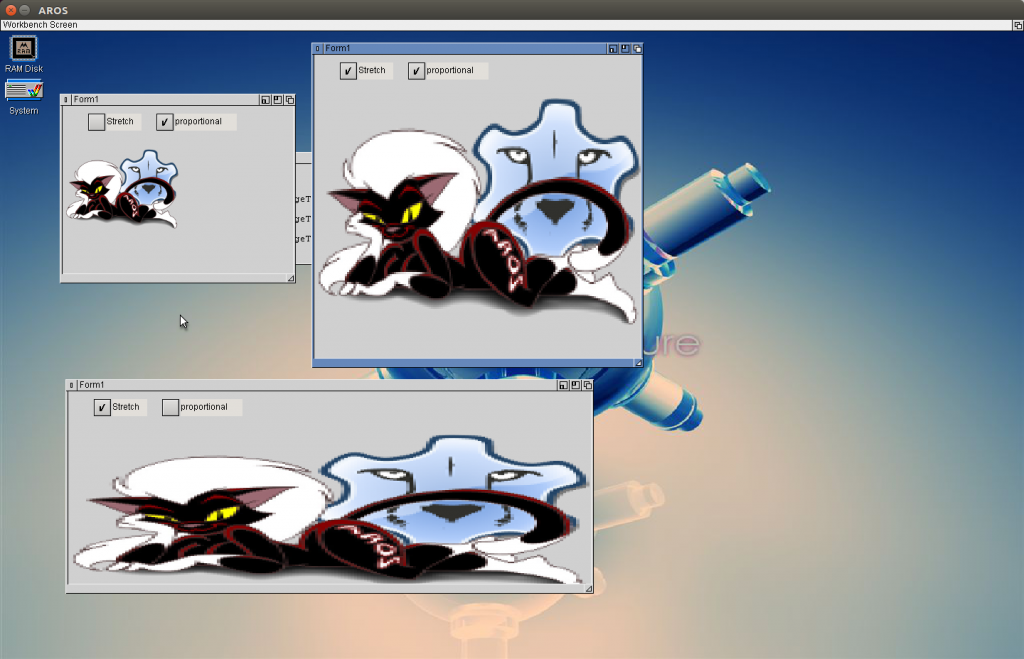 LCL-MUI TImage with stretching