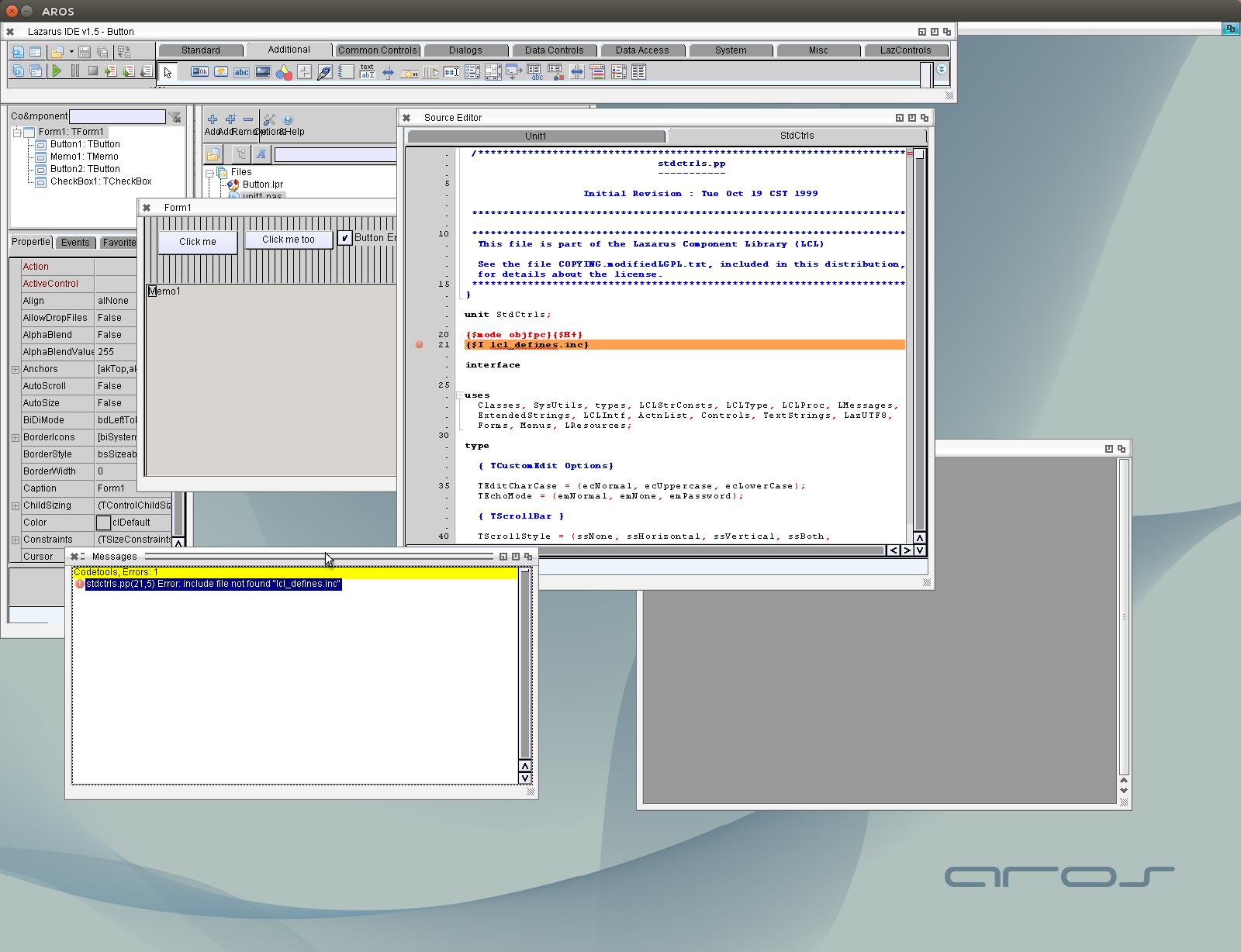 Как сделать браузер в lazarus