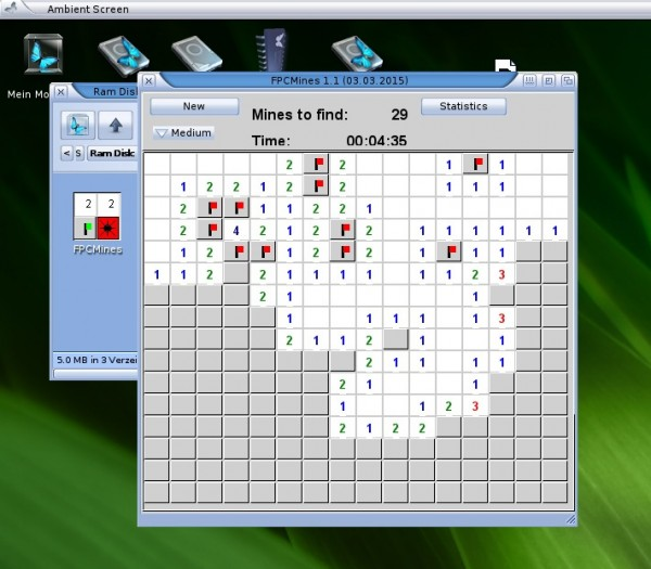 FPCMines on MorphOS