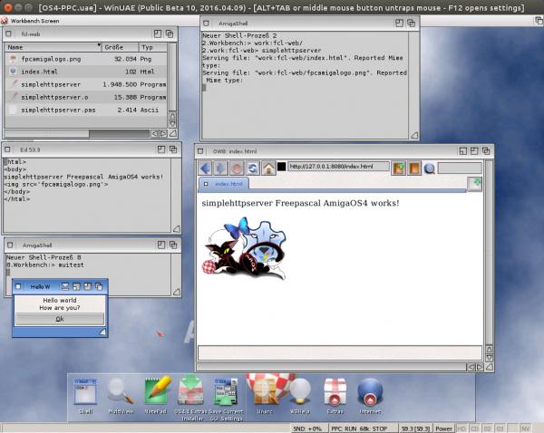 AmigaOS4-Webserver