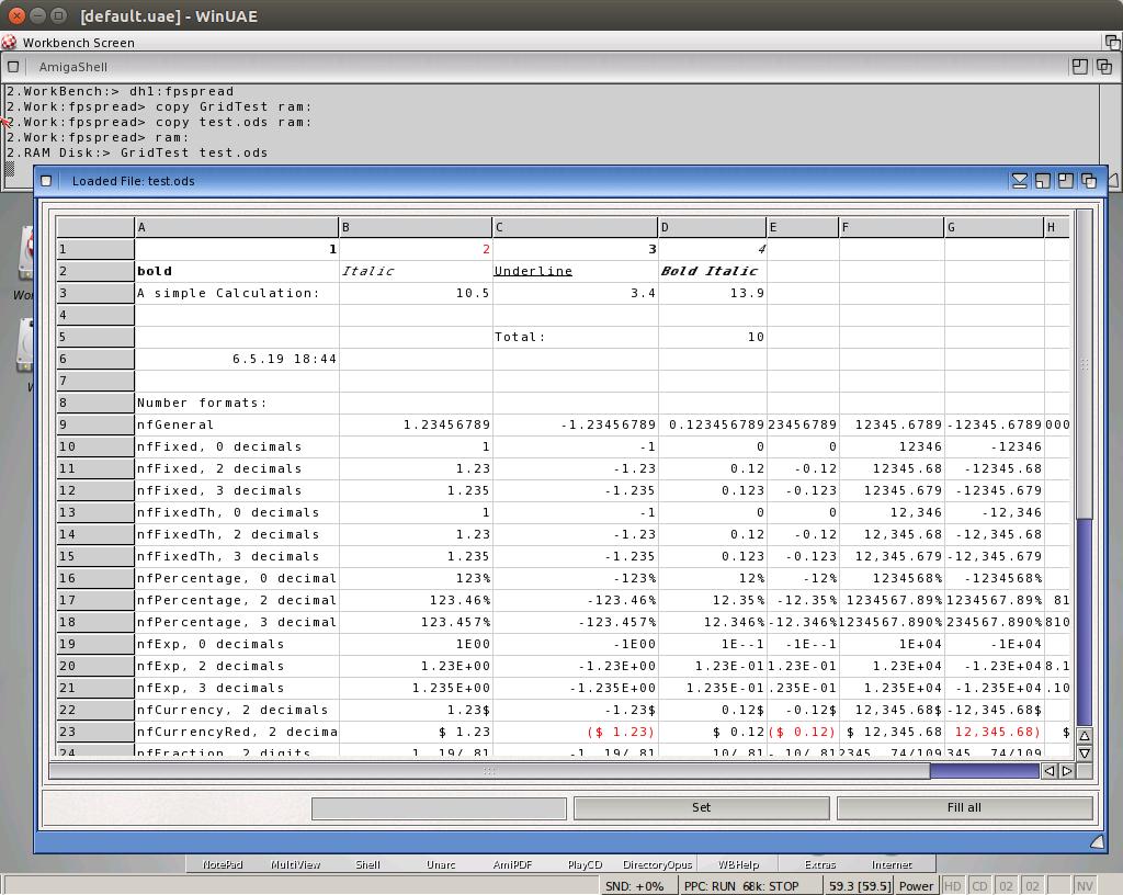 LibreOffice Amiga | ALBs Blog